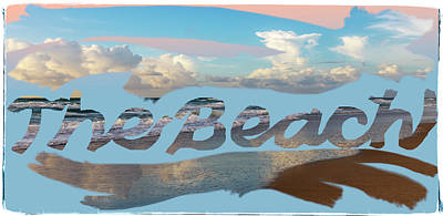 Photograph - The Beach Art by Debra and Dave Vanderlaan