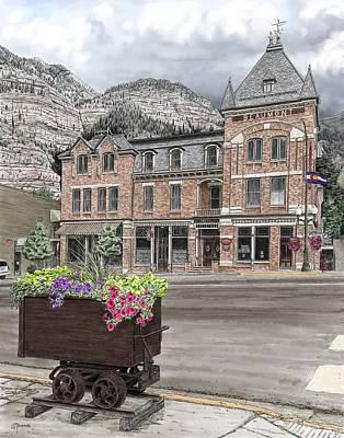Digital Art - The Beaumont Hotel by Rick Adleman