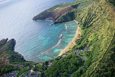 Photograph - The Beautiful Hanauma Bay by Lucinda Walter