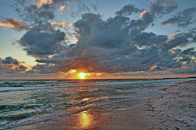 Photograph - The Beautiful Sea  by HH Photography of Florida