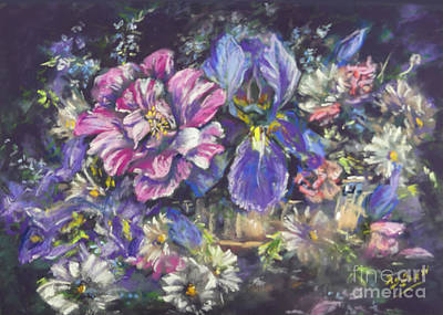 Painting - The Beauty Of Flowers by Ryn Shell