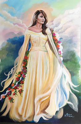 Painting - The Beauty Of Melania by Robert Korhonen