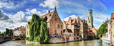 Photograph - The Belfort Of Bruges by Weston Westmoreland