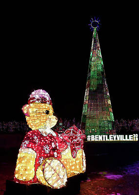 Photograph - The Bentleyville Bear by Susan Rissi Tregoning