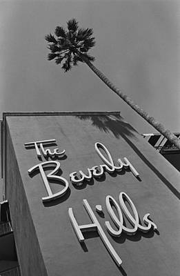 Hotel Photograph - The Beverly Hills Hotel by George Rose