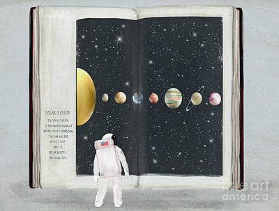 The Big Book Of Stars Art Print by Bri Buckley