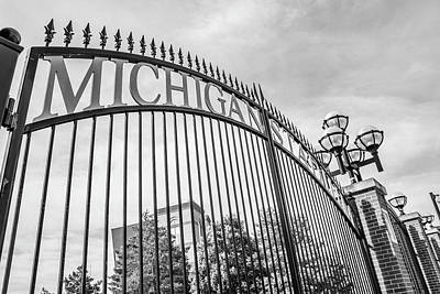 Photograph - The Big House Fence by John McGraw