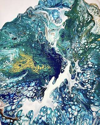 Painting - The Big Splash By Teresa Wilson by Teresa Wilson