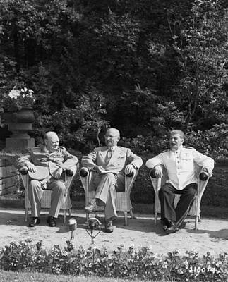 Photograph - The Big Three by Mpi