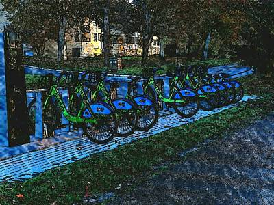 Aretha Franklin - The Bikes of St. Kates by Curtis Tilleraas