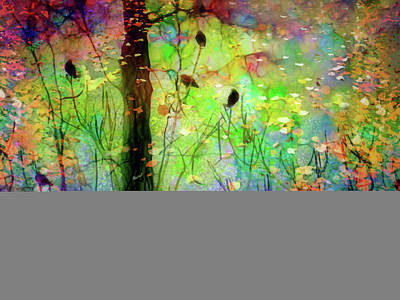 Digital Art - The Birds Of Pine Park by Tara Turner