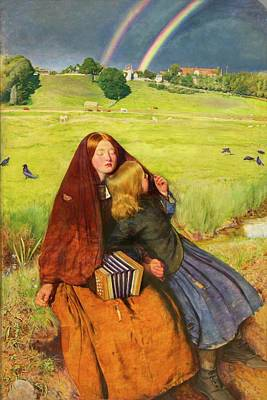 Painting - The Blind Girl By John Everett Millais by Peter Barritt
