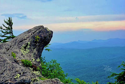 Photograph - The Blowing Rock by Meta Gatschenberger