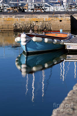 Photograph - The Blue Boat by Terri Waters