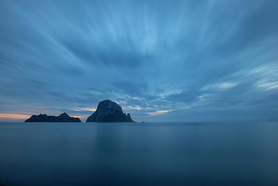 Photograph - The Blue Hour In Es Vedra, Ibiza by Vicen Photography