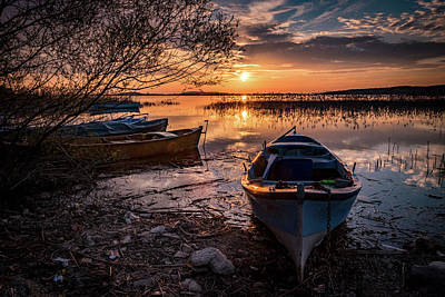Photograph - The Boats-1 by Okan YILMAZ