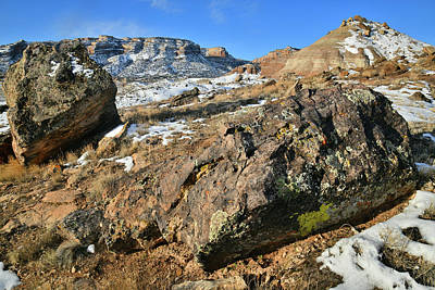 Photograph - The Boulder Field Of Ruby Mountain by Ray Mathis