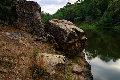 Photograph - The Boulders Of Wallace by Michael Scott
