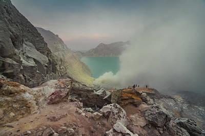 Photograph - The Breath Of Sulfur by Atila Martins Lauar