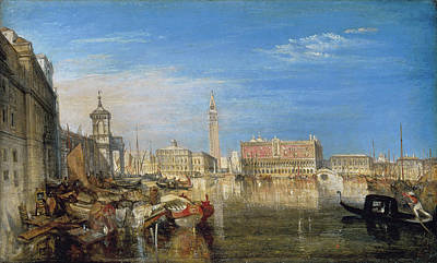 Painting - The Bridge Of Sighs  by Joseph Mallord William Turner