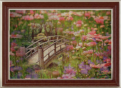 Mixed Media - The Bridge To Romance by Clive Littin