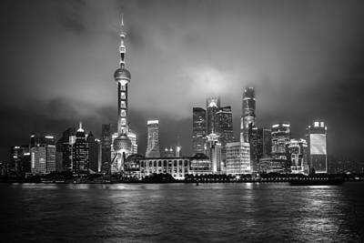 Photograph - The Bund - Shanghai, China by Steven Liveoak