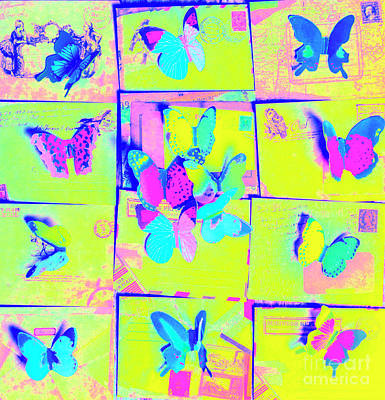 Pop Art Royalty-Free and Rights-Managed Images - The butterfly courier by Jorgo Photography - Wall Art Gallery