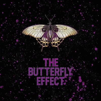 Wall Art - Mixed Media - The Butterfly Effect I by Amanda Lakey