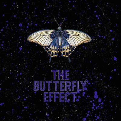 Wall Art - Mixed Media - The Butterfly Effect II by Amanda Lakey