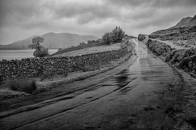Photograph - The Buttermere Road by Christopher Rees