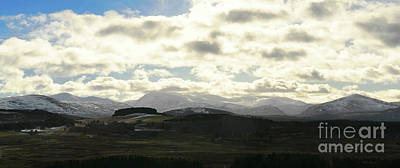 Photograph - The Cairngorm Mountains by Phil Banks