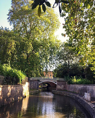 Classic Christmas Movies - The Canal In Sydney Gardens by Steve Swindells