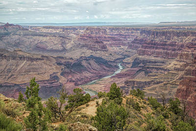 Photograph - The Canyon And The River by John M Bailey