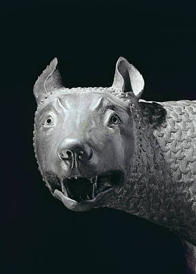 Sculpture - The Capitoline She Wolf by Etruscan