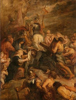 Painting - The Carrying Of The Cross, 1634 - 1637 by Peter Paul Rubens