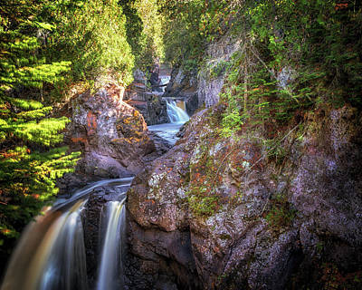 Photograph - The Cascades by Susan Rissi Tregoning