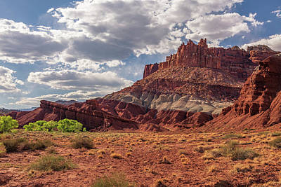Photograph - The Castle At Mummy Cliffs by ProPeak Photography