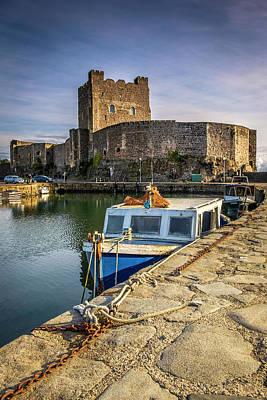 The Castle Harbour Art Print