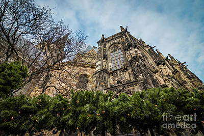 Photograph - The Cathedral Of Aix-la-chapelle by Eva Lechner