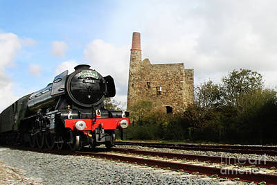 Photograph - The Cathedrals Express 60103 by Terri Waters