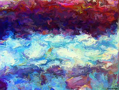 Digital Art - The Ceaseless Flow by Rein Nomm