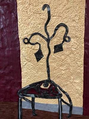 Mixed Media - The Chair by Deborah Stanley