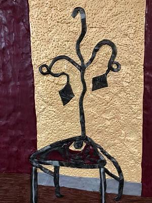 Mixed Media - The Chair by Deborah Stanley