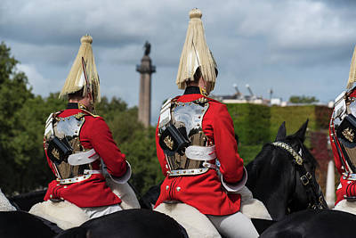 Photograph - The Changing Of The Horse Guard London Uk United Kingdom by Toby McGuire