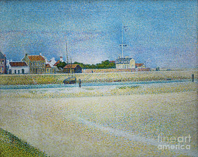 The Channel Of Gravelines Grand Fort Philippe Art Print