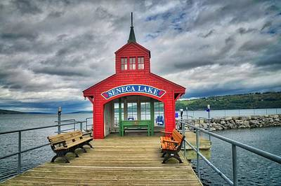 Art Print featuring the photograph The Charm Of Seneca Lake - Finger Lakes, New York by Lynn Bauer