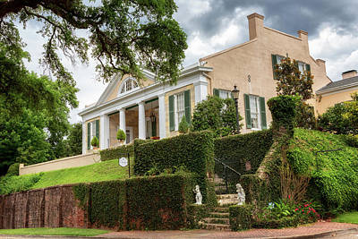 Photograph - The Cherokee House - Natchez, Mississippi by Susan Rissi Tregoning