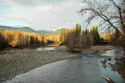 Photograph - The Chewuch Meets The Methow by Tom Cochran