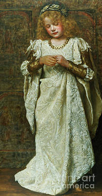 Painting - The Child Bride, 1883  by John Collier