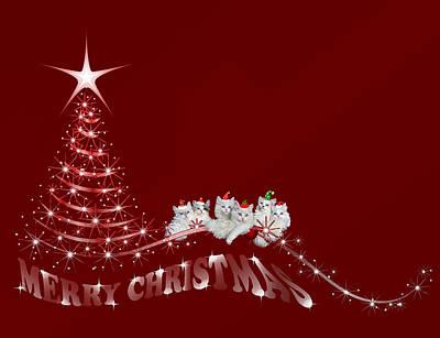 Wall Art - Digital Art - The Christmas Seis by Cynthia Leaphart